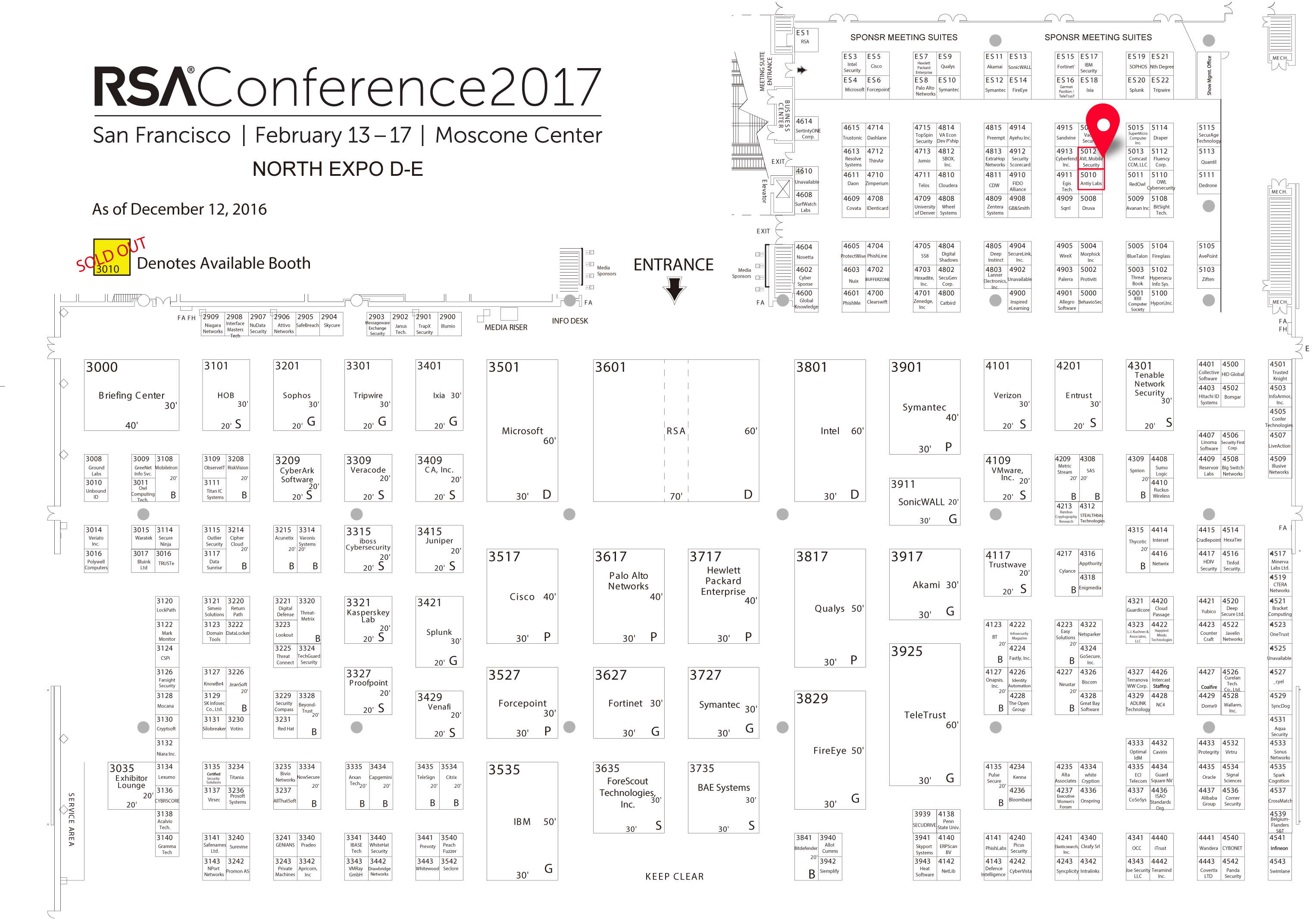 RSAC17 North Expo 12-12-16
